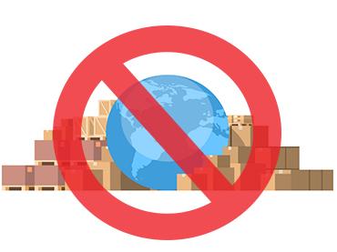 ممنوعیت واردات و صادرات کالا